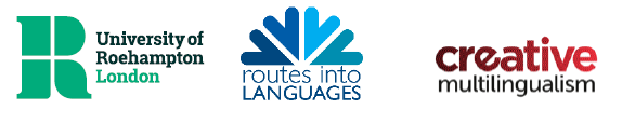 University of Roehampton, Routes into Languages and Creative Multilingualism logos