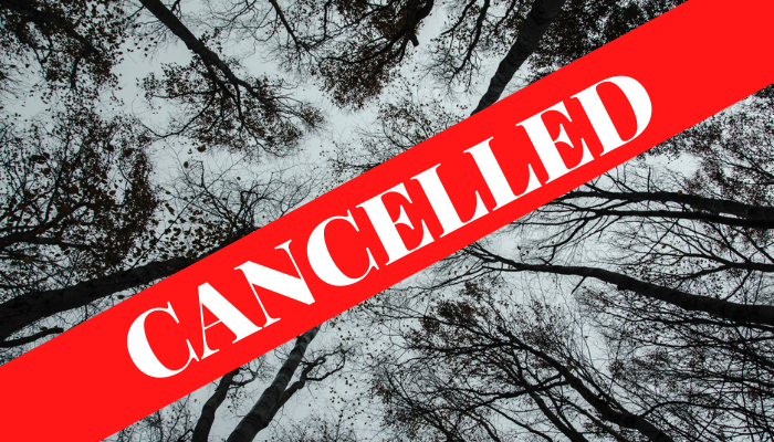 Cancelled image