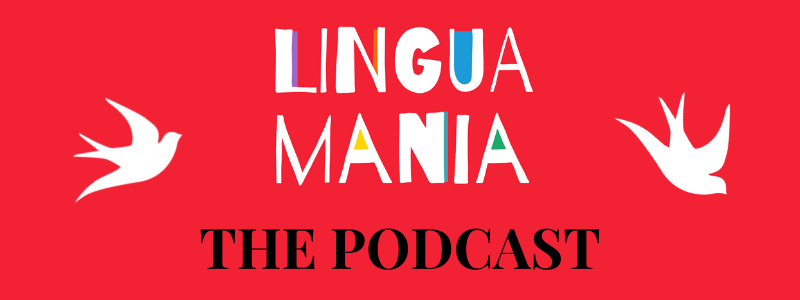 LinguaMania podcast banner