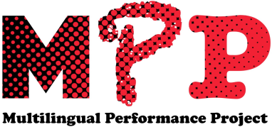 Multilingual Performance Project logo