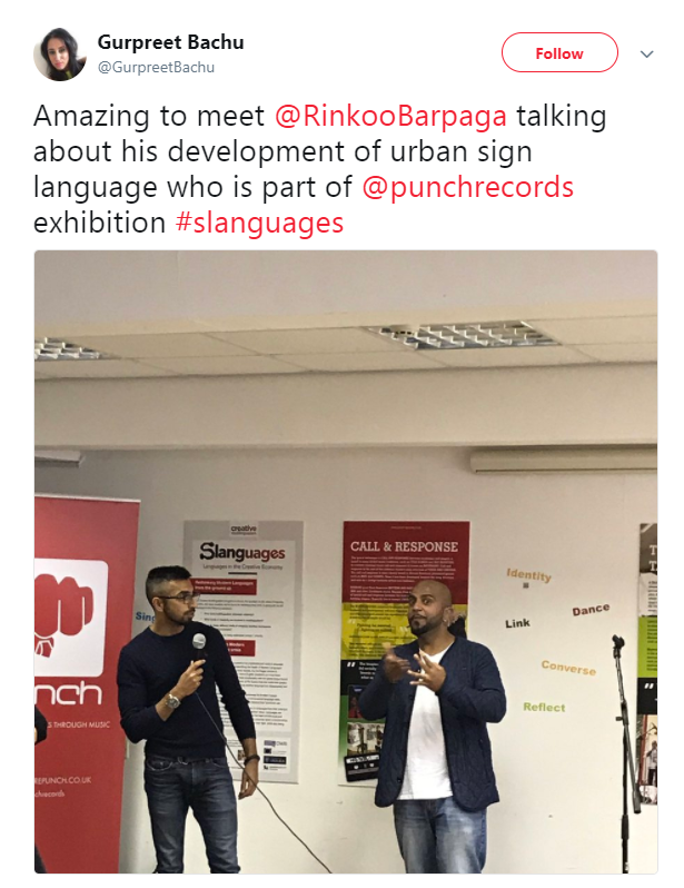 Slanguages on twitter