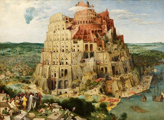 Pieter Bruegal the Elder, The Tower of Babel