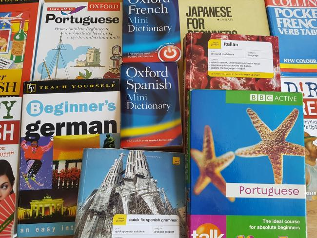 Language learning books