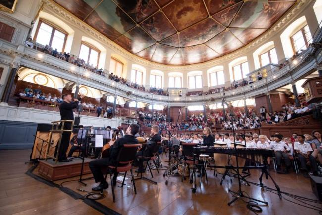 Multilingual concert at Sheldonian Theatre