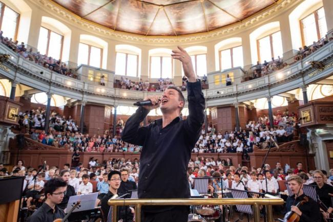 Photo of multilingual concert at Sheldonian