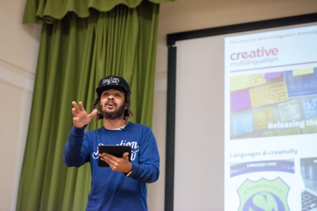 RTKAL performing at Creative Multilingualism Conference