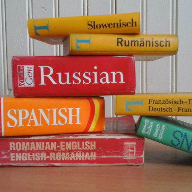 Language learning dictionaries