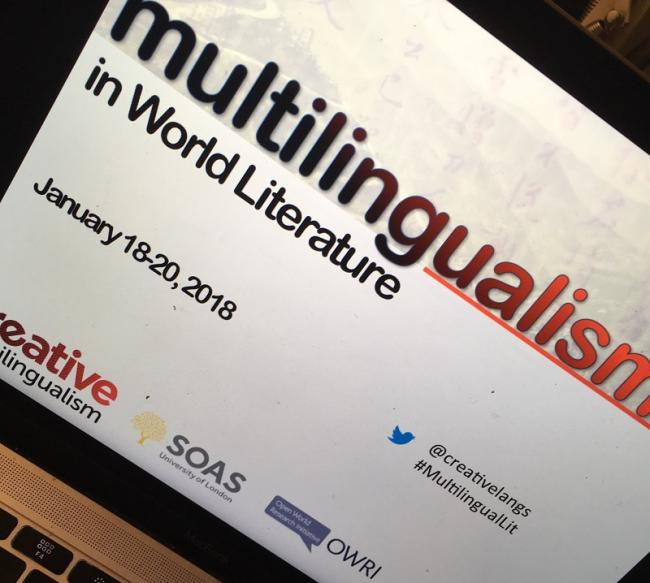 Multilingualisms in World Literature image