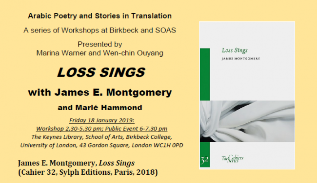 Loss Sings: workshop and public event